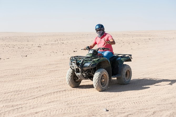 3 Hours Safari Morning by Quad Bike & Camel Riding - Sharm El Sheikh
