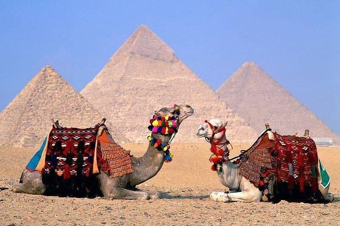 Private Tour to Giza Pyramids, Memphis and Sakkara (Full Day Trip)
