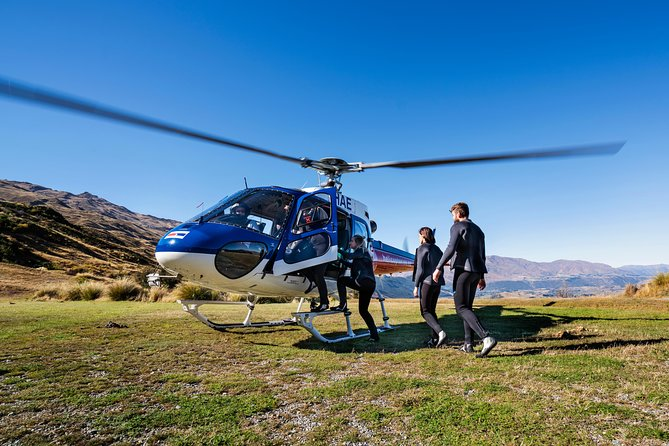 Queenstown Shotover River Helicopter Ride and White Water Rafting