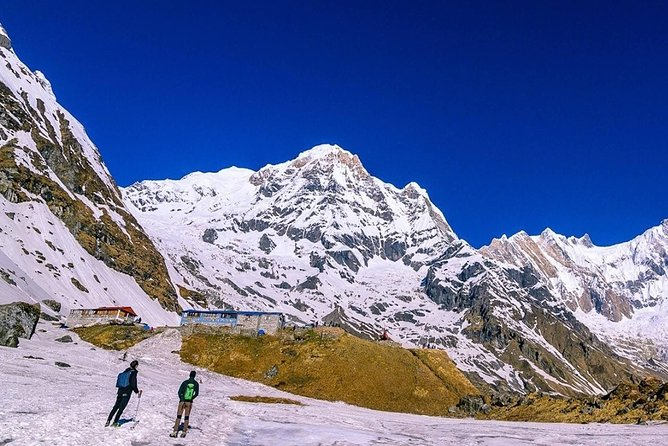Annapurna Base Camp Helicopter Landing Tour.