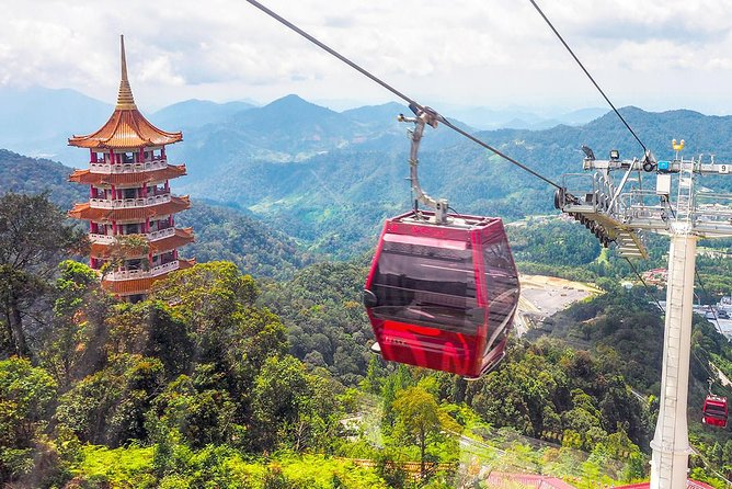 Genting Highland Day Trip Include 2-way Cable Car Tickets