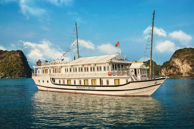 Halong Bay-Cat Ba Island 3days 2nights(1night SEASUN Cruise+1night CATONG resort