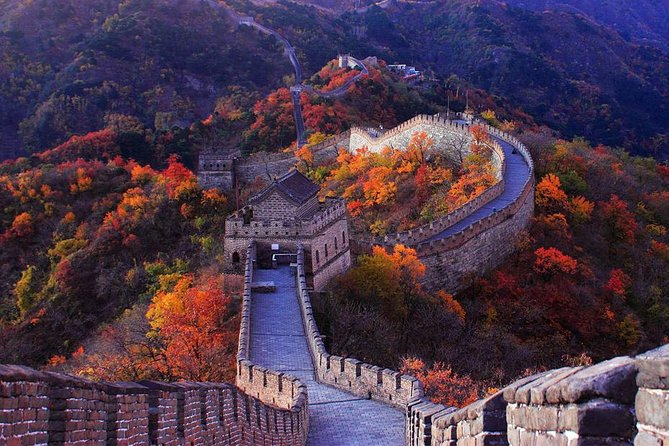 Private Mutianyu Great Wall & Ming Tomb Trip Lunch in famous Xiaoyuan Restaurant