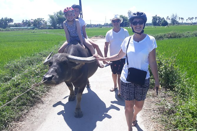 Hoi An Eco Tour: Basket boat ride, buffalo ride, farming and cooking