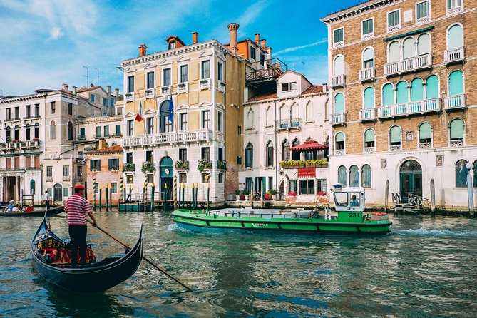 Private Venice Tour by High-Speed train from Rome