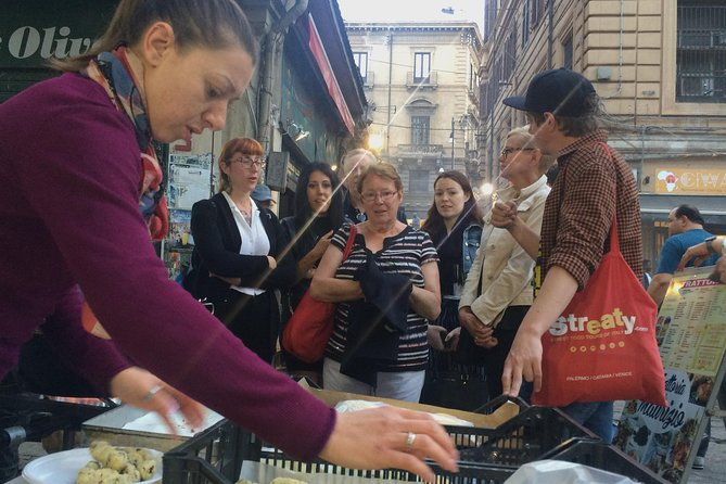 Night Street Food Tour of Palermo