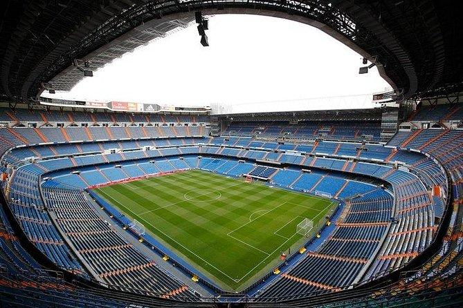 Ingresso com entrada direta no Estádio Bernabéu