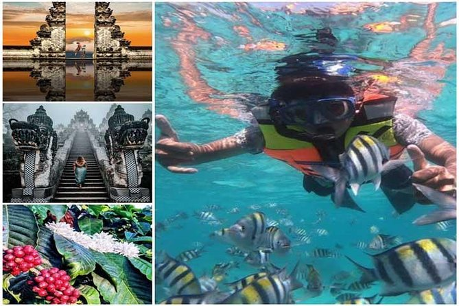 All Inclusive : Lempuyang Temple with Snorkeling Blue Lagoon And Tanjung Jepun