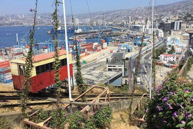 Excursão Valparaíso (Patrimônio Mundial) e Excursão Viña Del Mar (saindo de Valparaíso)