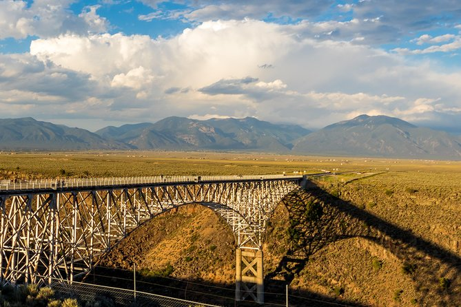 The visually stunning Rio Grande Gorge Bridge