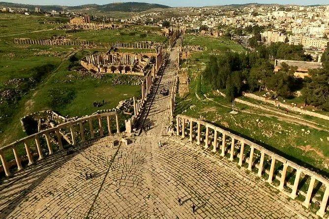Sendibad 4:( one day tour ,north of Jordan : Jerash - Ajlun castle ,Um qais )