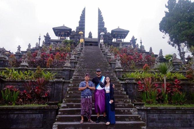 Tukad Cepung Waterfall - Besakih - Tirta Gangga - Lempuyang Tour - Free WiFi