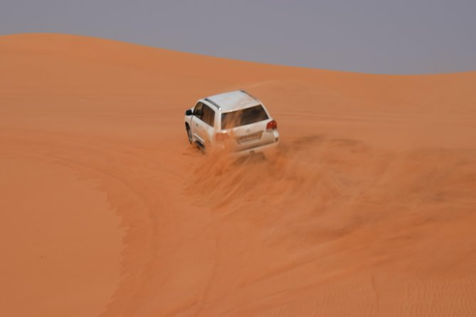 Private Morning Desert Safari with Sand Boarding
