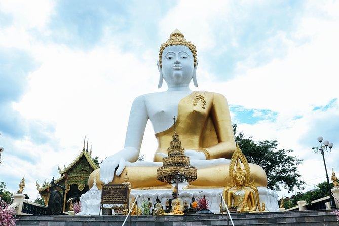 Wat Phra That Doi Khum(Golden Temple)+Night Safari Park Including Buffet Dinner
