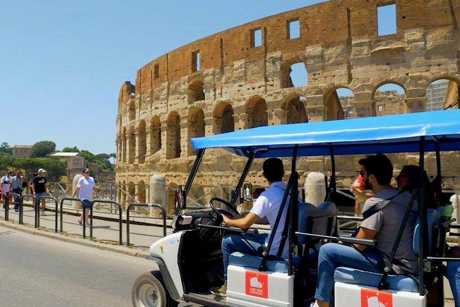 Golf Cart Tour Rome (4 Hours 1/2 Full Inmercion)
