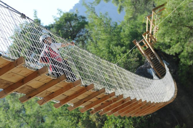Our hanging bridge..it sways!! :))