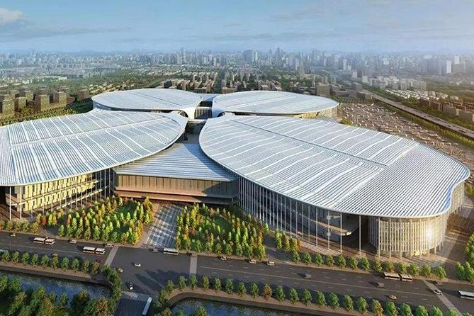 Shanghai National Exhibition and Convention Center (NECC) transfer to Downtown