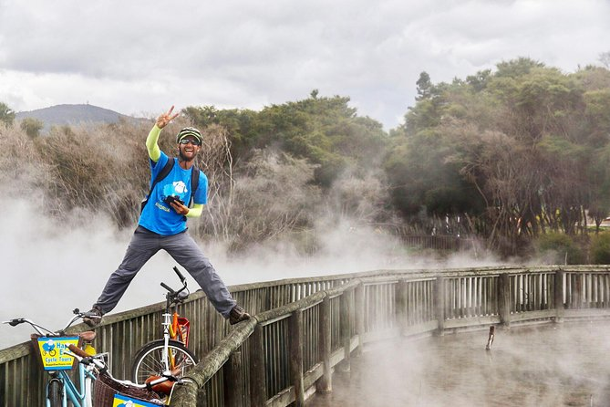Hot Lakes Cycle Tour - Rotorua