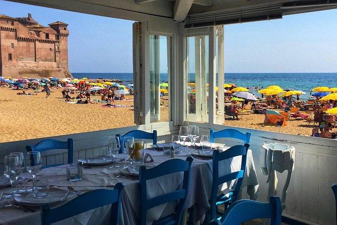 Civitavecchia Cruise Port Shore Excursion: Roman Golden Sand Beach Sun & Sea