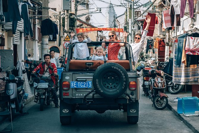 3-Hour Discovery The Old Times of Shanghai by Jeep Tour