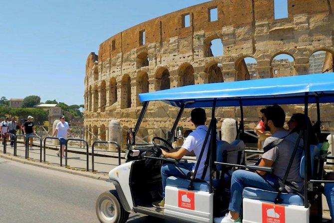 Golf Cart Tour admiring the beauty of Rome!