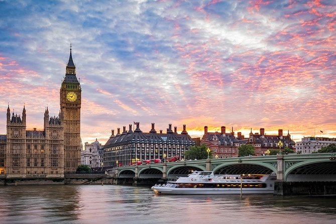 Private 8-hour Shore Excursion to London from Southampton Cruise Port