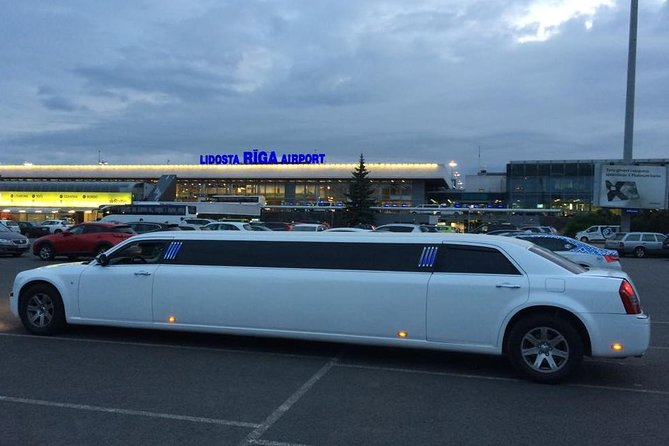 Limo Transfer for Bachelor Party and for Bachelorette Party in Riga.