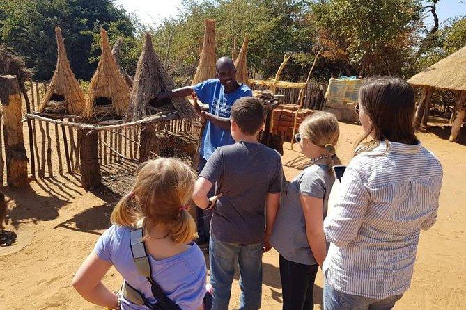Traditional Village Tour and Zambezi Sunset Cruise