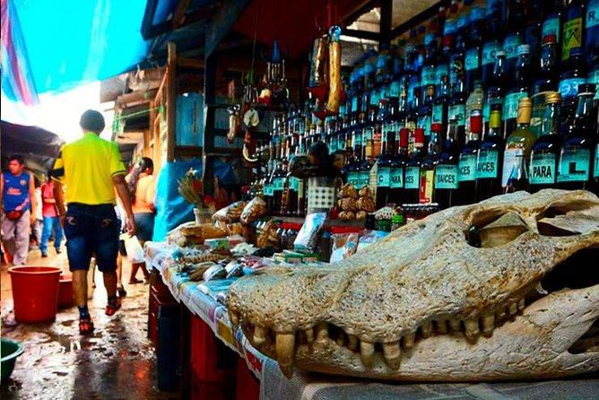 Esoteric market of belen in Iquitos