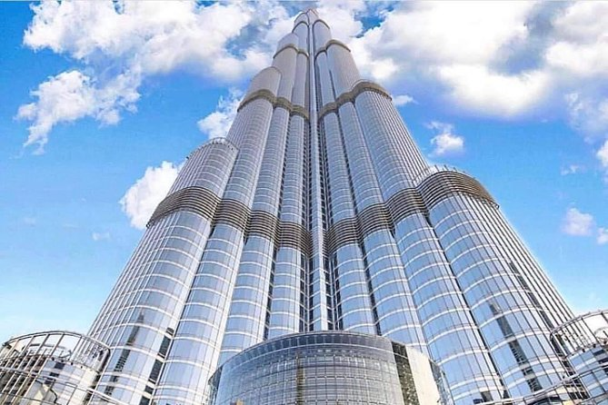 Old & Modern Dubai City Tour with Burj Khalifa At The Top & Blue Mosque Visit
