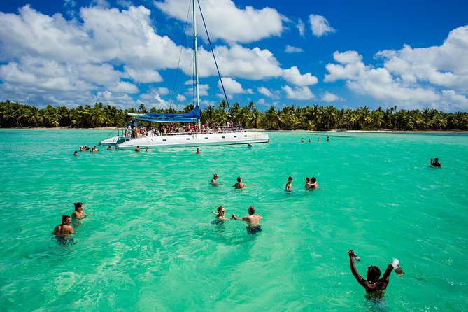 Saona Blue Paradise from Punta Cana