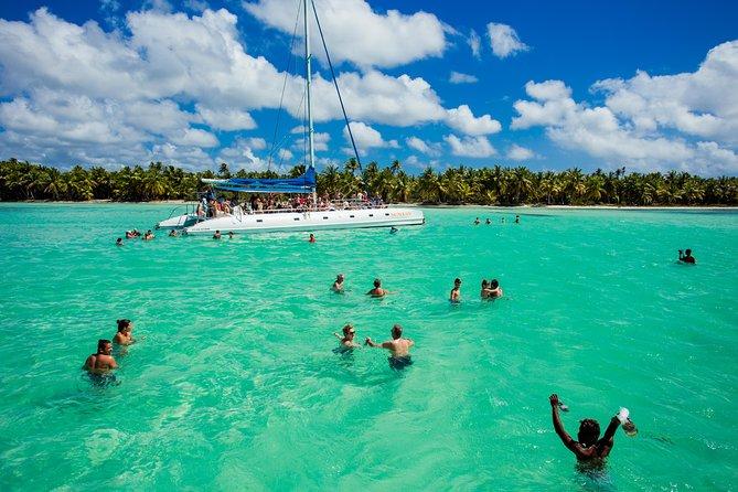 Saona Blue Paradise from Punta Cana