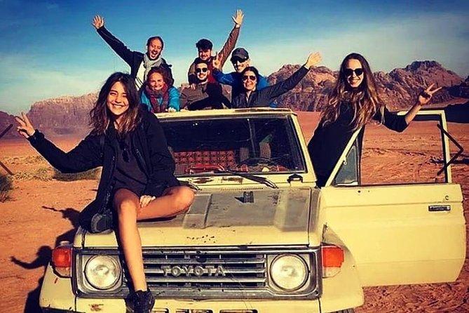 """Two-Day Jeep Tour: """"Hike & Scrambling Al Hash Mountain"""""""