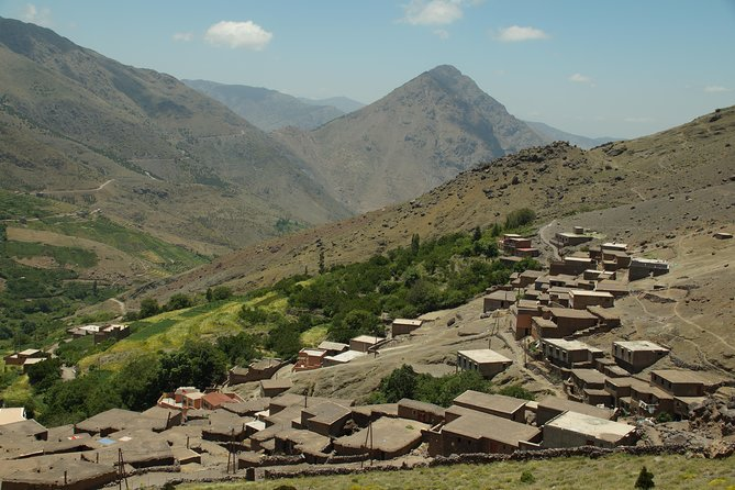 Private excursion, Imlil at the Jebel Toubkal, mountain landscape of the High Atlas