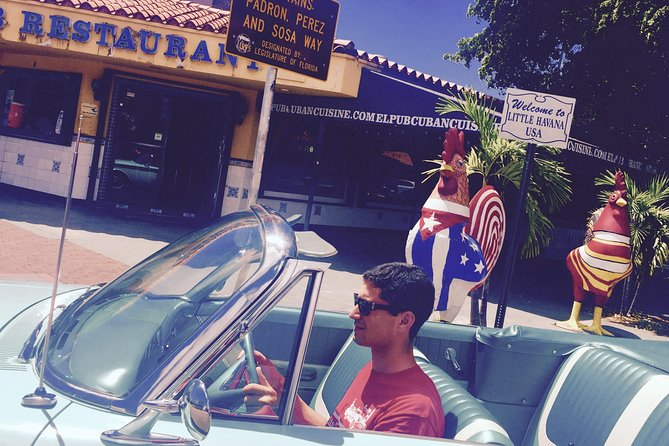 Private Tour to Miami Beach, Wynwood and Little Havana with Classic Convertible