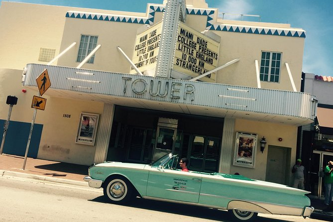 Private Tour to Miami Beach and Little Havana with Classic Convertible