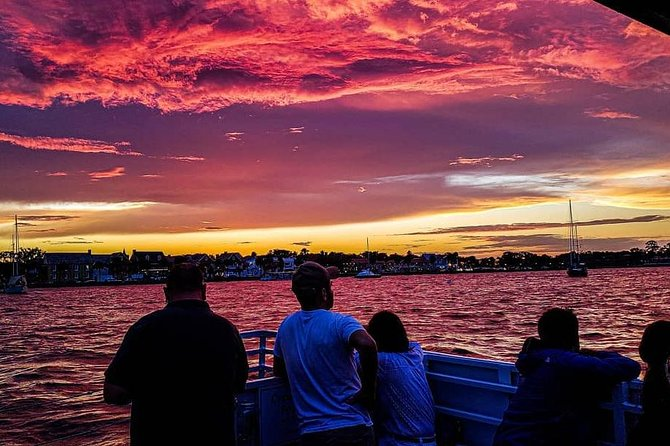 Sunset Cruise of St. Augustine with a Local Guide