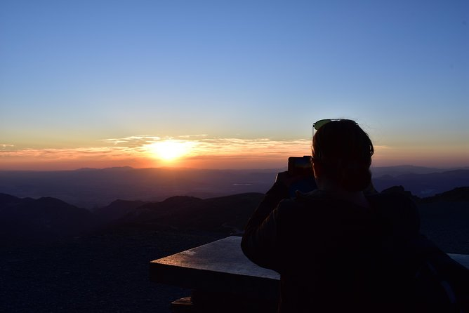 Sunset at 2,500m in Sierra Nevada