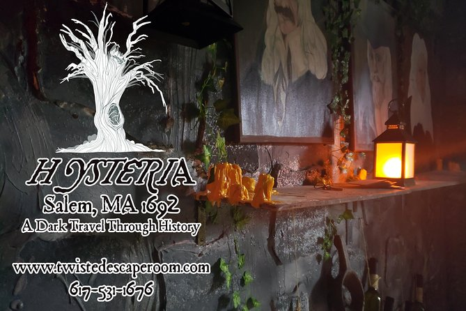 Hysteria; A Twisted Escape Room trip to the past!