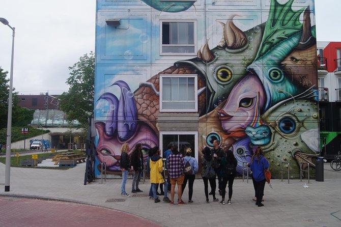 Street art mural tour every Sunday