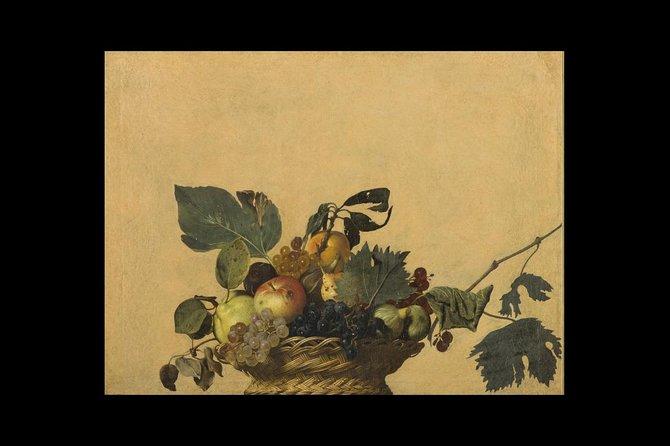 Milan: Leonardo da Vinci and Caravaggio, Ambrosiana Museum