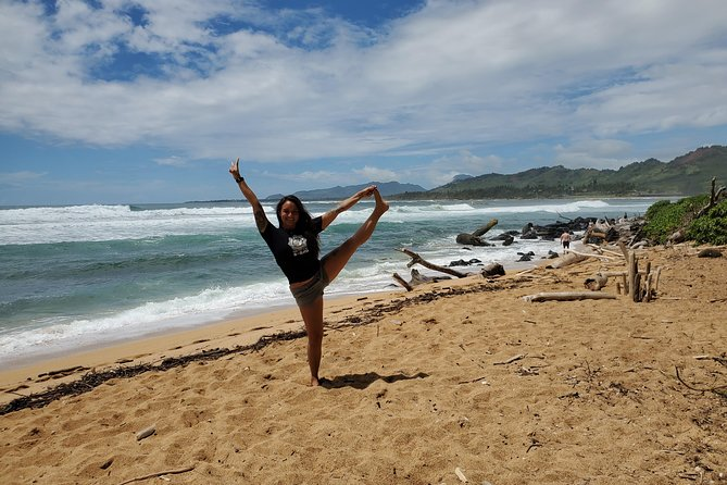 Kauai Yoga on the Beach