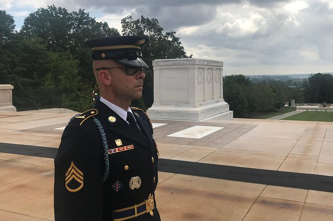 Sergeant of the Guard at the Tomb of the Unknowns
