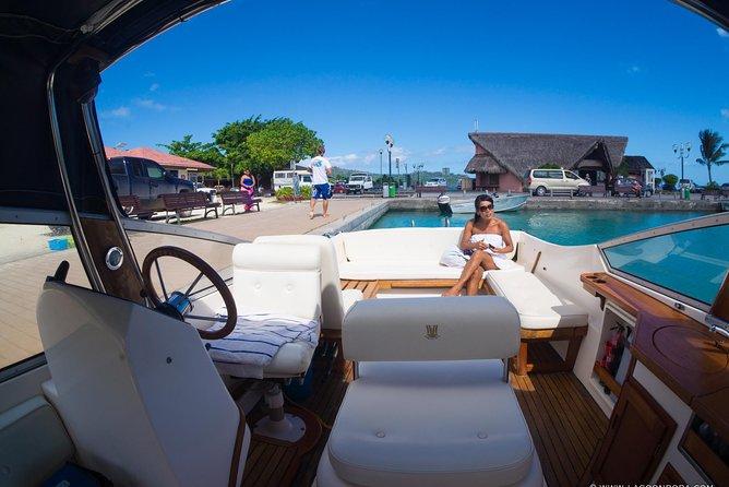 Bora Bora Private Snorkeling in a luxury Boat