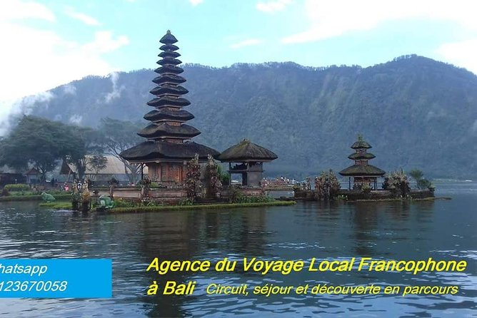 Bali Excursions One day; Traditional Market and Rice Terrace Temple