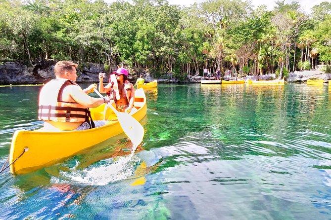 Cenote Tankah 4 Cenotes & Zip-Line Mayan Adventure