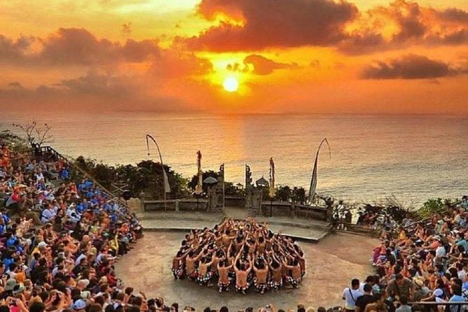 Uluwatu Cliff Temple sunset Tour with Kecak Show and Sea Food Dinner at Jimbaran Beach