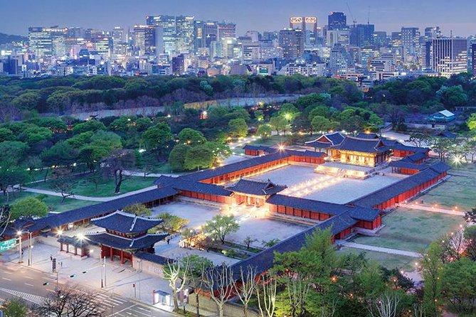 Seoul Night City Tour including Gwangjang Foodie Market and N Seoul Tower