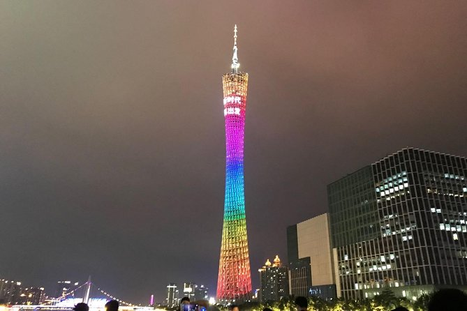 Guangzhou Layover Private Tour to Canton Tower and Pearl River Cruise with Meal photo 2