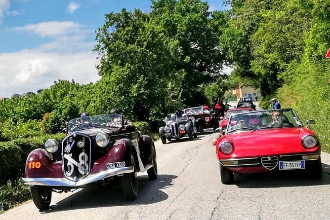 Drive A Classic Car Around The Hills